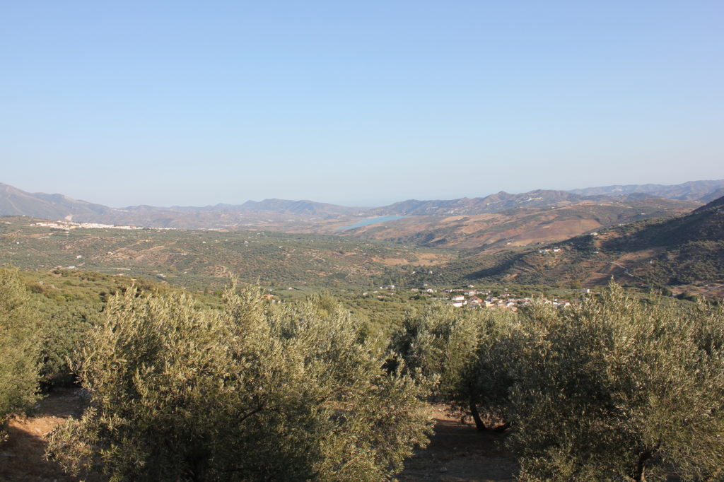 Periana und Mondrón in der Provinz Málaga, Andalusiens